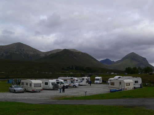 Sligachan camp site